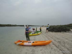 my kayak and I