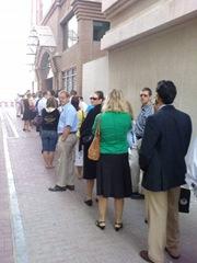 Voting in Dubai