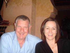 Mr and Mrs at Tagine